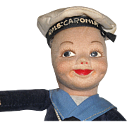 Norah Wellings Souvenir Sailor Doll - RMS Caronia