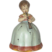 Little Girl Figural Music Box