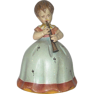 Little Girl Figural Music Box