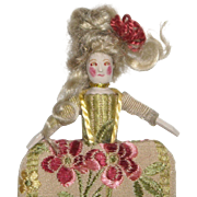Miniature Wooden Doll