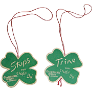 Hummell Stups and Trine Paper Tags