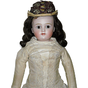 "18.5"" Kestner Bisque Closed Mouth Doll"