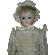 "15"" Kestner Bisque Closed Mouth Doll"