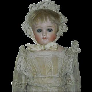 "15"" Kestner Bisque Closed Mouth Doll"