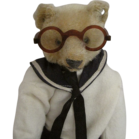Adorable Turn of the Century Glasses or Spectacles for Antique Doll or Teddy Bear