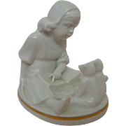 1920s to 1930s Rosenthal Figurine Teddy Storytime