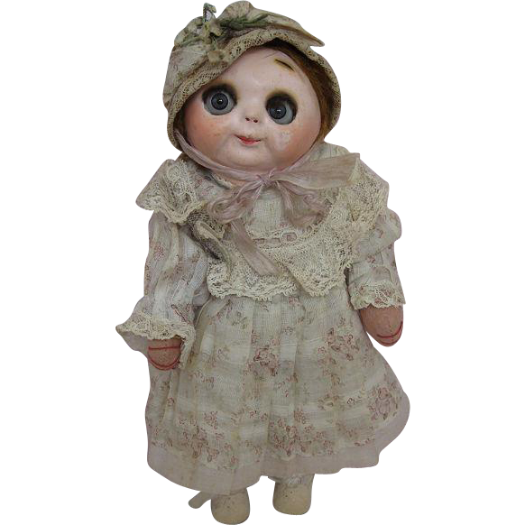 All Original Hug Me Kiddies Doll Germany Circa 1915-1925