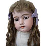 Charming Antique German Bisque Doll Large Simon Halbig 1079