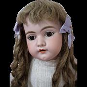 Charming Antique German Bisque Doll Large Simon Halbig 1079