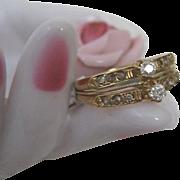 Victorian Twin Diamond Ring