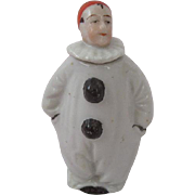 Charming Vintage Porcelain Perfume Bottle Roly Poly Clown
