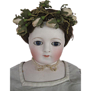 Extremely Rare French Fashion Doll Marked  Gaudinot Popineau Circa 1865 with Additional Dress