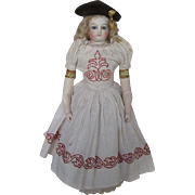 Fabulous Circa 1860s-1870s French Fashion Rohmer Antique Doll  Rare Large Size.