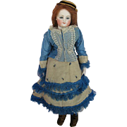 Remarkable Fine Early Bru Poupee Fashion Doll Dressed As Pre Debutante