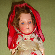 German Bisque Doll All Original Clothes