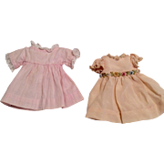 Doll Dress Cute Set of 2