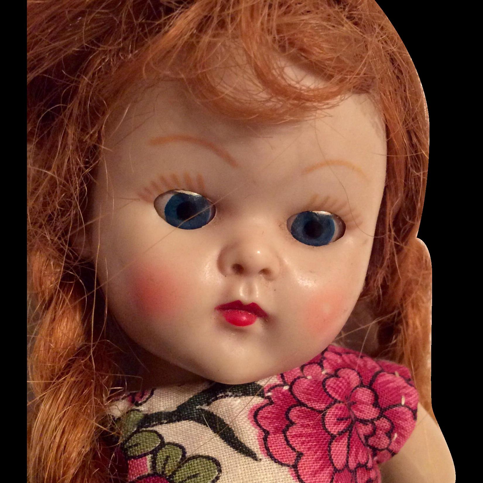 Ginny Doll Reissue Redhead Braids 110