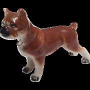 Vintage Porcelain Dog for Doll or Dollhouse Miniature Glazed Bisque