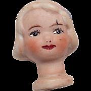 Cute Bisque Doll Head