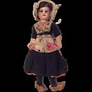 All Original German Bisque Doll Dutch Girl AM 390