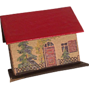 German Miniature Doll Size Dollhouse