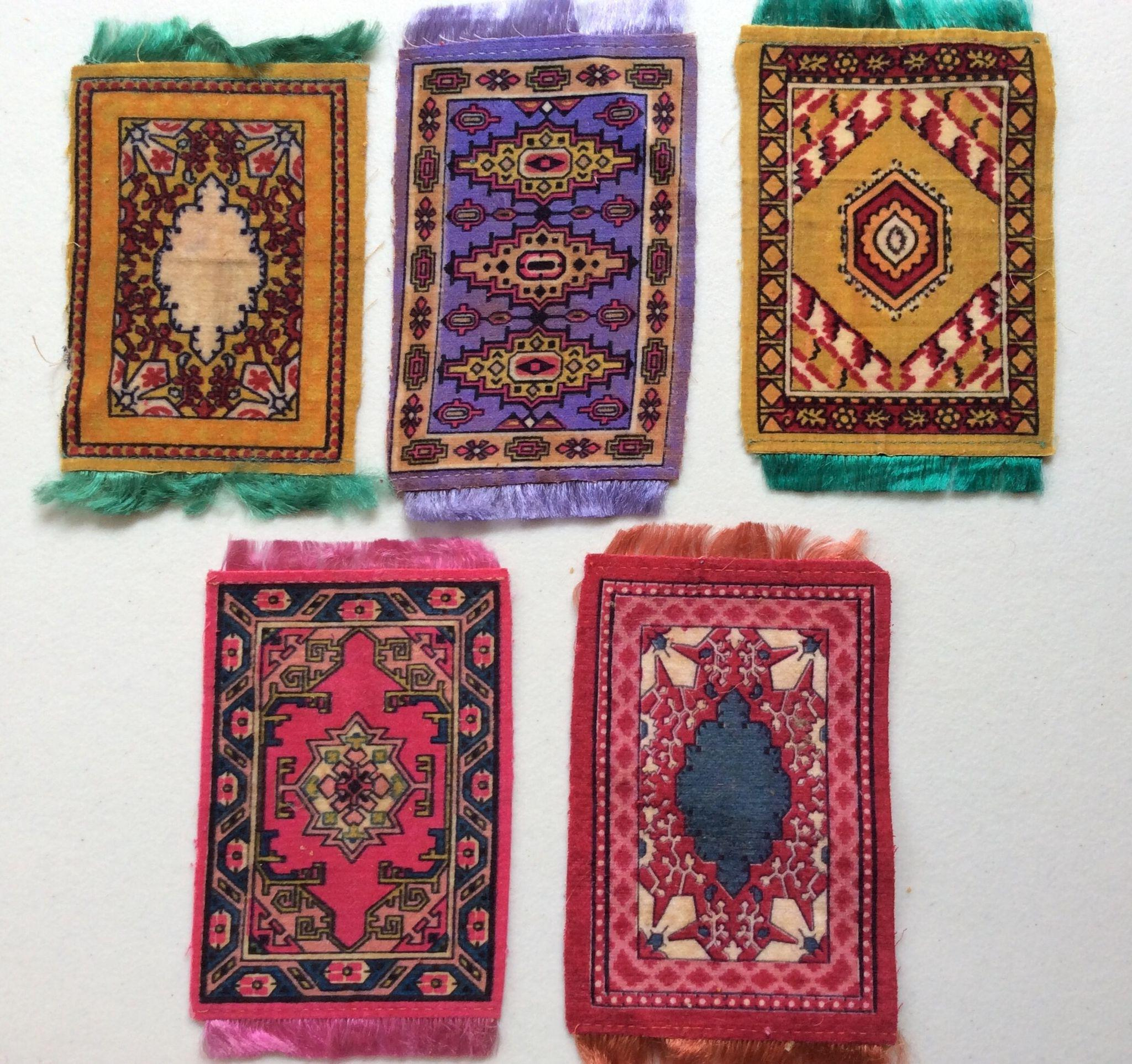 Miniature Oriental Rugs Home Decor