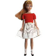 Vintage Mattel Skipper Doll Complete Silk 'n Fancy Outfit. Barbie Sister