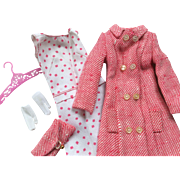 Vintage Barbie Cousin Francie Doll Shoppin Spree Outfit Mattel