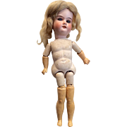 German Bisque on Lady or Teenage Jointed Body Doll Project or Parts