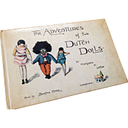 Golliwogg and Wood Doll Book Adventures of Two Dutch Dolls Florence Upton