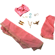 HTF Vintage Mattel Barbie Doll Arabian Nights Costume Outfit