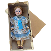 NRFB Antique Schoenau Hoffmeister Bisque Head Doll All Original Never Removed from Box