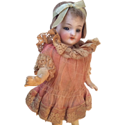 All Original Flapper Doll Antique German Bisque