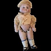 German All Bisque Sleep Eye Doll