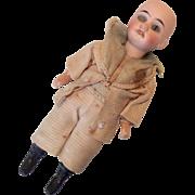 Antique German Bisque Doll Factory Origianl Clothes for Repair Parts Body