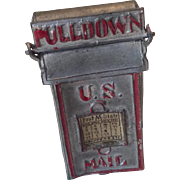 German Miniature Dollhouse Doll US Mail Postal Mailbox