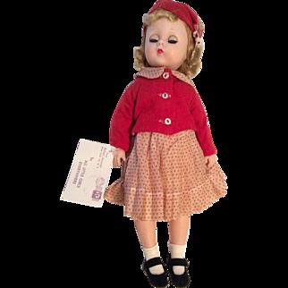All Original 1950s Madame Alexander Lissy Doll Hard Plastic