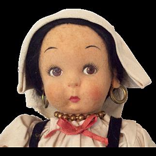 Vinatge Lenci Doll Napolitana Tag