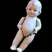 German All Bisque Antique Doll