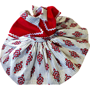 Vintage Boxed 1950s Ideal Shirley Temple Doll Dress