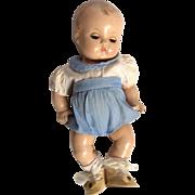 Vintage Effanbee Composition Patsy Babyette Doll Original Clothes