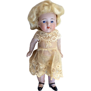 Kestner All Bisque Antique German Doll