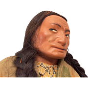 Huge Skookum Native American Indian Vintage Cheif Doll