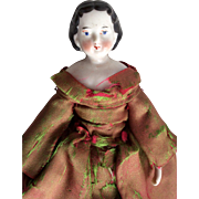 China Head Doll Antique German Highbrow