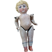Antique German All Bisque Doll