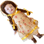 Large All Bisque German Antique Doll
