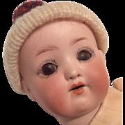 "Adorable Bisque 7"" Baby Doll Antique German"