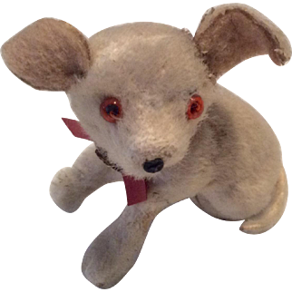 Adorable German Miniature Dog for Doll or Dollhouse