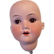 Antique German Bisque Doll Head