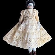 "12"" German China Head Doll"